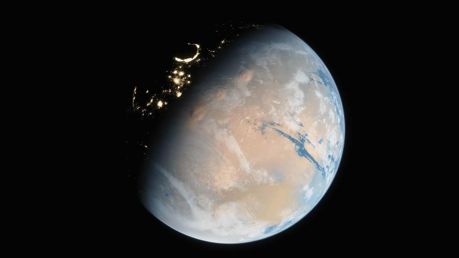 Punto para la Panspermia: La vida pudo venir de Marte. Nueva investigación confirma que es posible