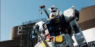 Un robot real de casi 20 metros ha dado sus primeros pasos