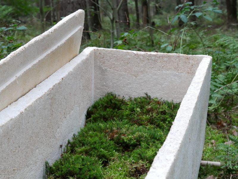 Alternativa ecológica: un ataúd vivo hecho de hongos «El Capullo Viviente»