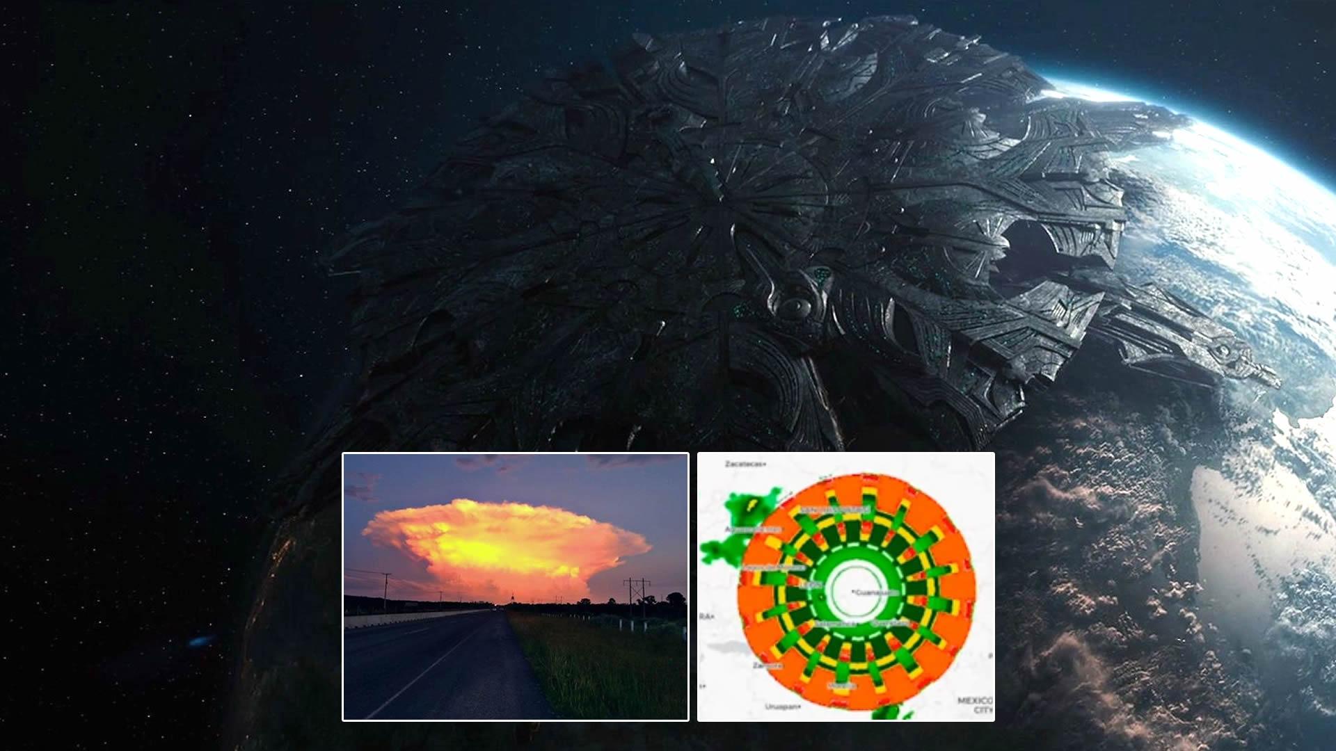 Anomalía gigantesca de 300 km apareció sobre México, y no fue la única (VÍDEO)