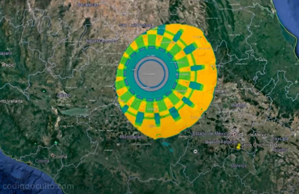 Enorme ANOMALÍA de 300 km de diámetro es detectada sobre México