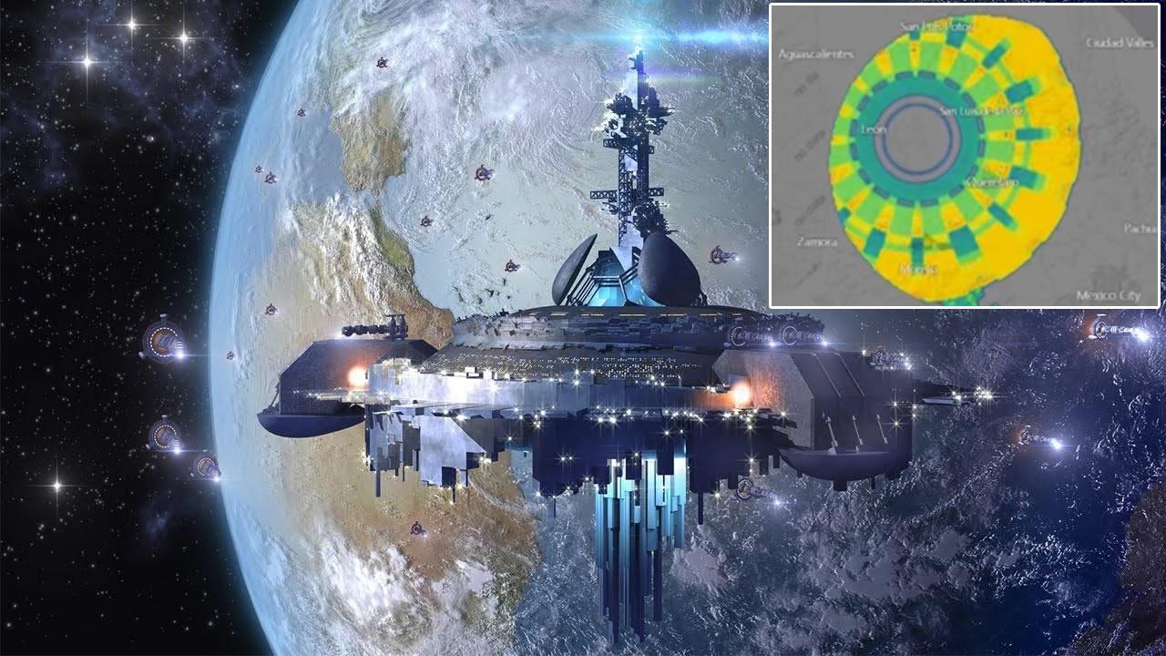 Enorme ANOMALÍA de 300 km de diámetro es detectada sobre México (VÍDEO)