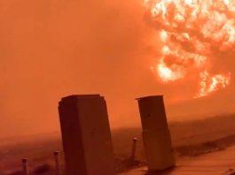 Enorme bola de fuego es captada sobre Oregon y se confirma destrucción sustancial de varias localidades por incendios