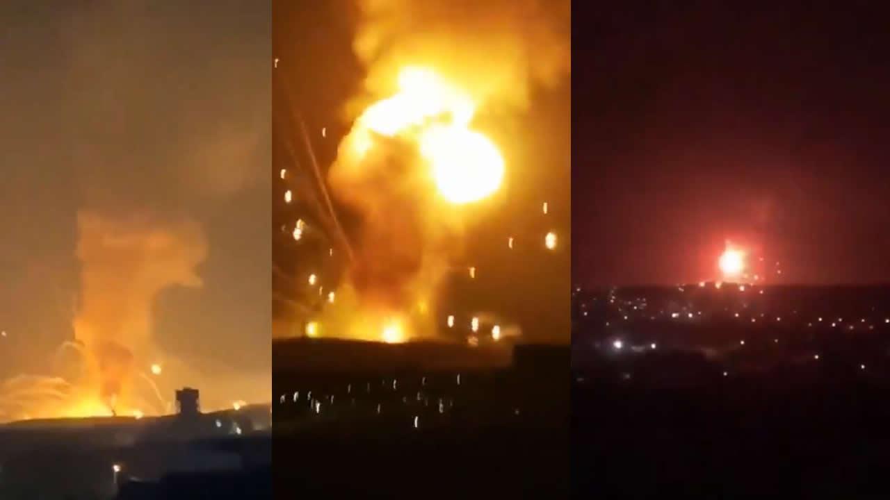 Potente explosión ocurre en base militar del ejército de Jordania (VÍDEOS)