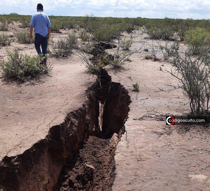 Gigantesca grieta se forma en Chihuahua (México). Temor ante posible terremoto