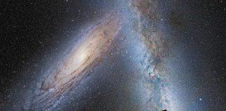El gigantesco Halo de Andrómeda ya está chocando con la Vía Láctea