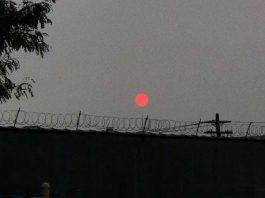 Humo de incendios forestales llegan a New York y causan extrañas puestas de Sol