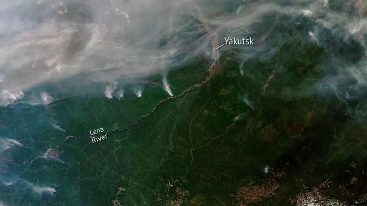 Amazonas amenazada nuevamente por decenas de miles incendios, mientras en el Ártico incendios «reviven»