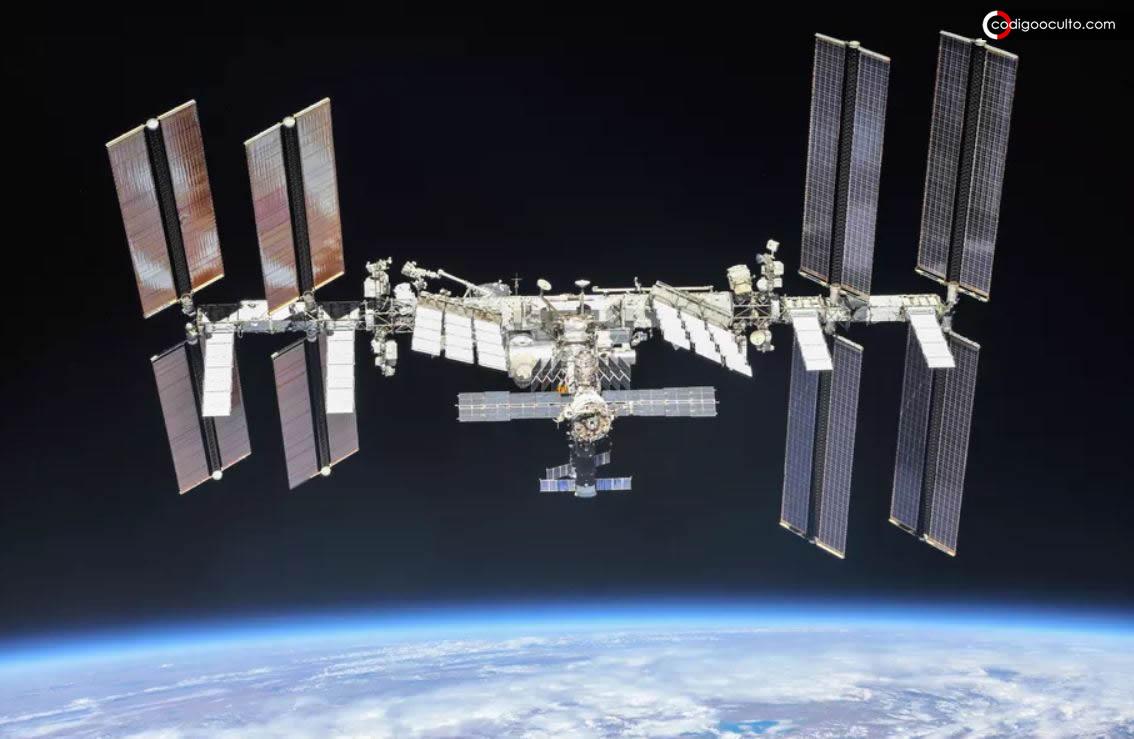 Estación Espacial Internacional hace maniobra evasiva para no chocar con «basura espacial desconocida»