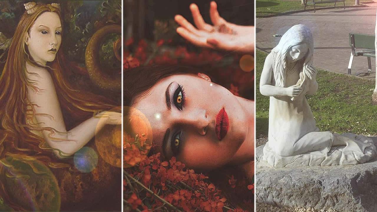 Lamia: aterradora criatura «vampira» en la antigua Grecia (VÍDEO)
