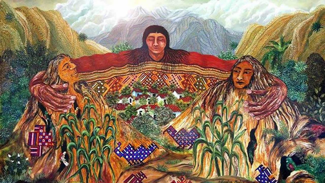 Pacha Mama respetada y temida Diosa Suprema del pueblo andino