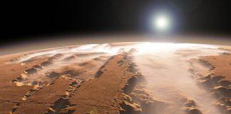 Hallan una red de lagos ocultos bajo la superficie de Marte
