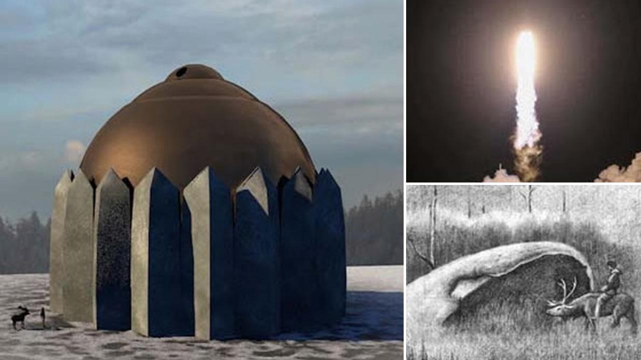 Misteriosas estructuras abovedadas en Siberia: ¿Antiguo sistema de defensa alienígena? (VÍDEO)