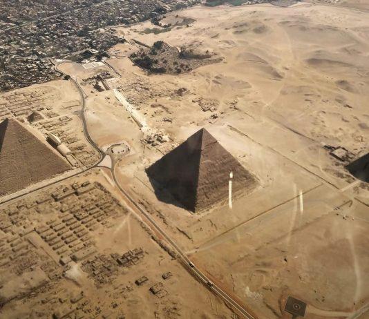 Misteriosas estructuras gigantescas descubiertas cerca de las Pirámides de Egipto