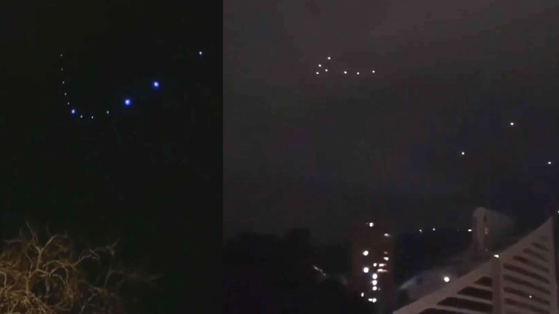 Extraños objetos luminosos sorprenden a residentes en Medellín, Colombia (VÍDEOS)