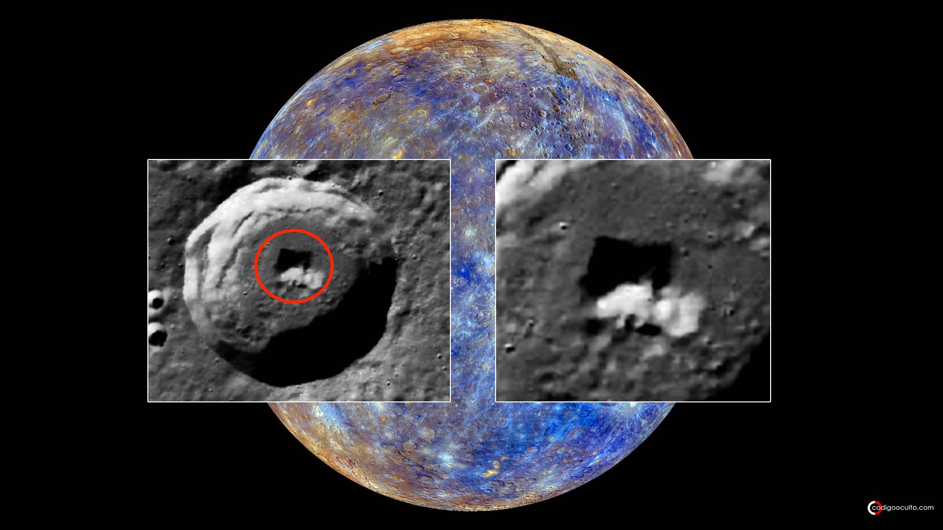 ¿Es esto una «Puerta de Entrada» a una Base Subterránea en Mercurio? (VÍDEO)
