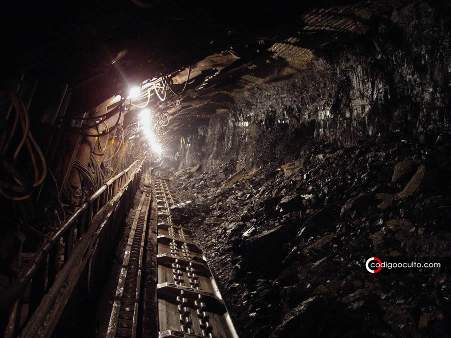 Una «rueda» de 300 millones de años fue hallada en una mina a 900 metros de profundidad