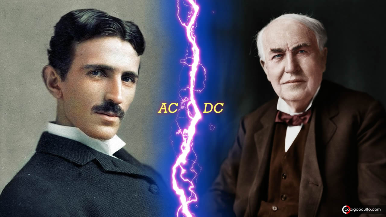 Tesla y Edison enfrentados: AC/DC – La Guerra de las Corrientes