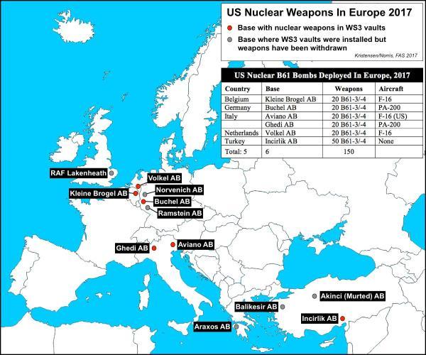Alemania y aliados de la OTAN realizan ejercicio de guerra nuclear