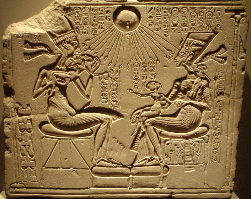 ¿Qué o quién era Atón? El disco solar del faraón Akenatón