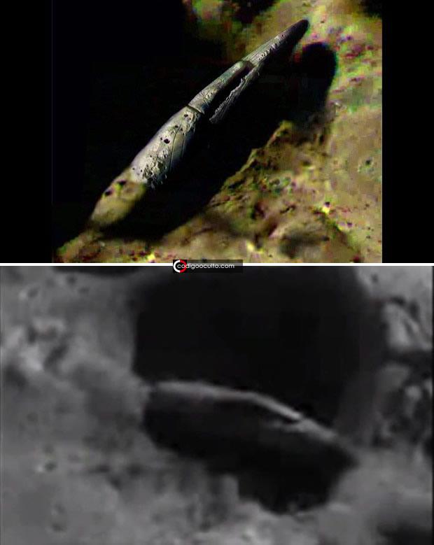 Enorme y enigmático objeto hallado en cráter de la Luna... ¿La razón de volver?