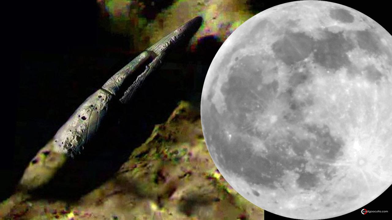 Enorme y enigmático objeto hallado en cráter de la Luna… ¿La razón de volver?