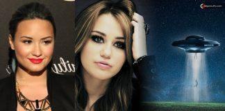 Demi Lovato y Miley Cyrus afirman que tuvieron «contacto con alienígenas»