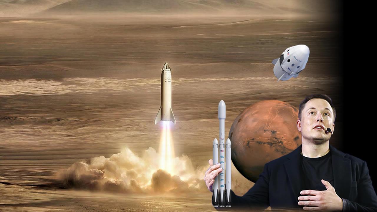 «En cuatro años podremos hacer el primer viaje a Marte», dice Elon Musk