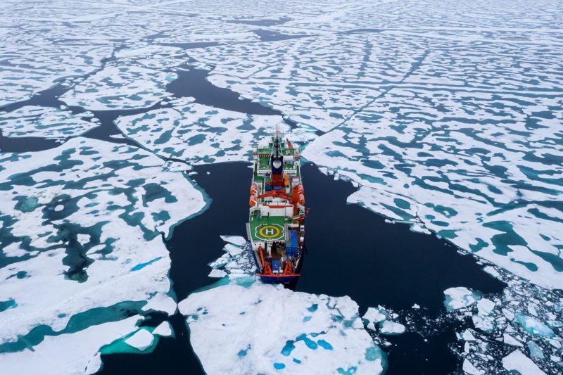 «Fuimos testigos de cómo el océano Ártico está muriendo», dice científico de la mayor expedición al Polo Norte