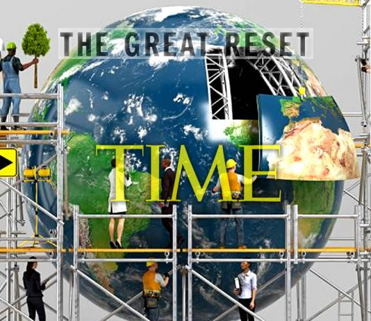 Portada de Revista TIME muestra el «Gran Reinicio» del Planeta
