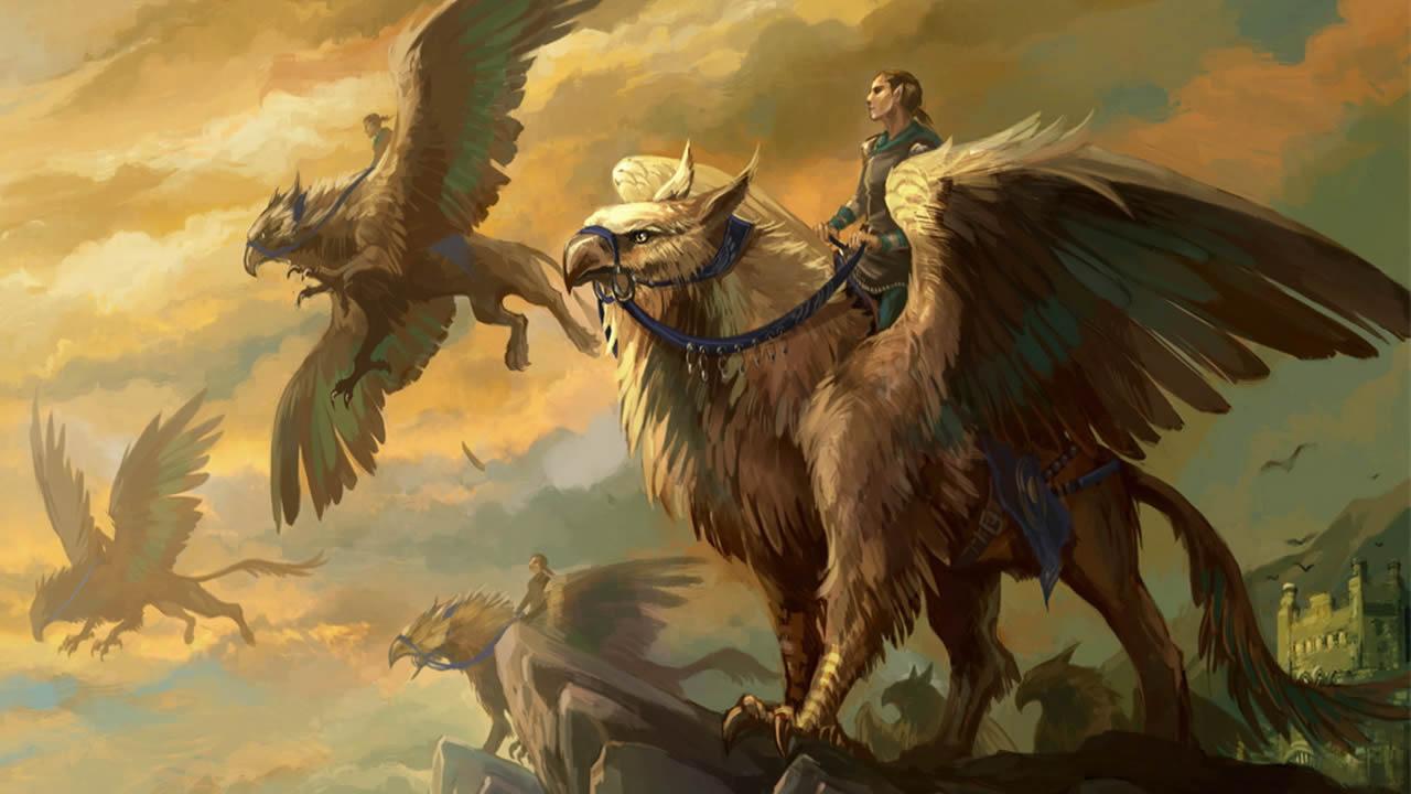 Grifo: una criatura legendaria presente en la mitología (VÍDEO)