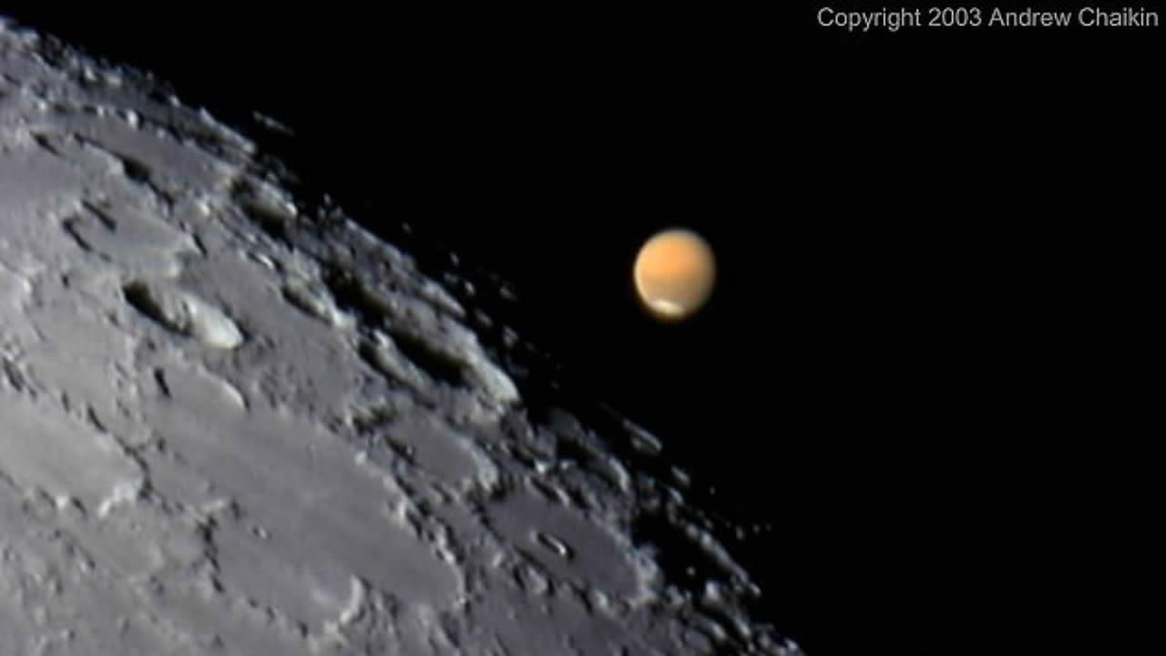 Marte estará más cerca de la Tierra esta semana de lo que estará en 15 años