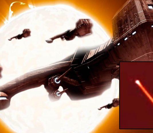 Presencian objetos anómalos entrando y saliendo del Sol, como si se tratara de un «Portal»