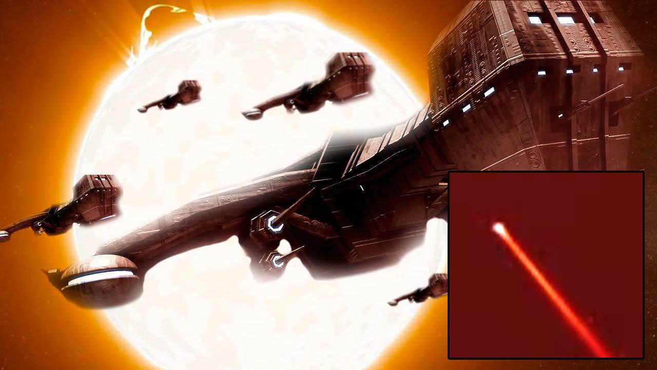 Presencian objetos anómalos entrando y saliendo del Sol, como si se tratara de un «Portal» (VÍDEO)
