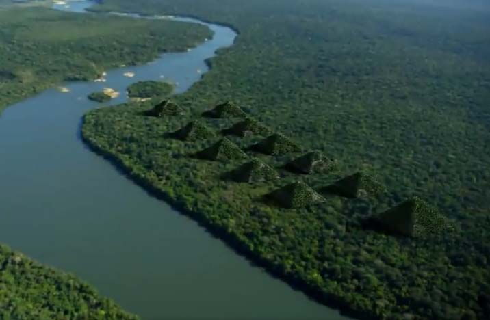 Pirámides de Paratoari: ancestrales construcciones descubiertas en el Amazonas por un satélite