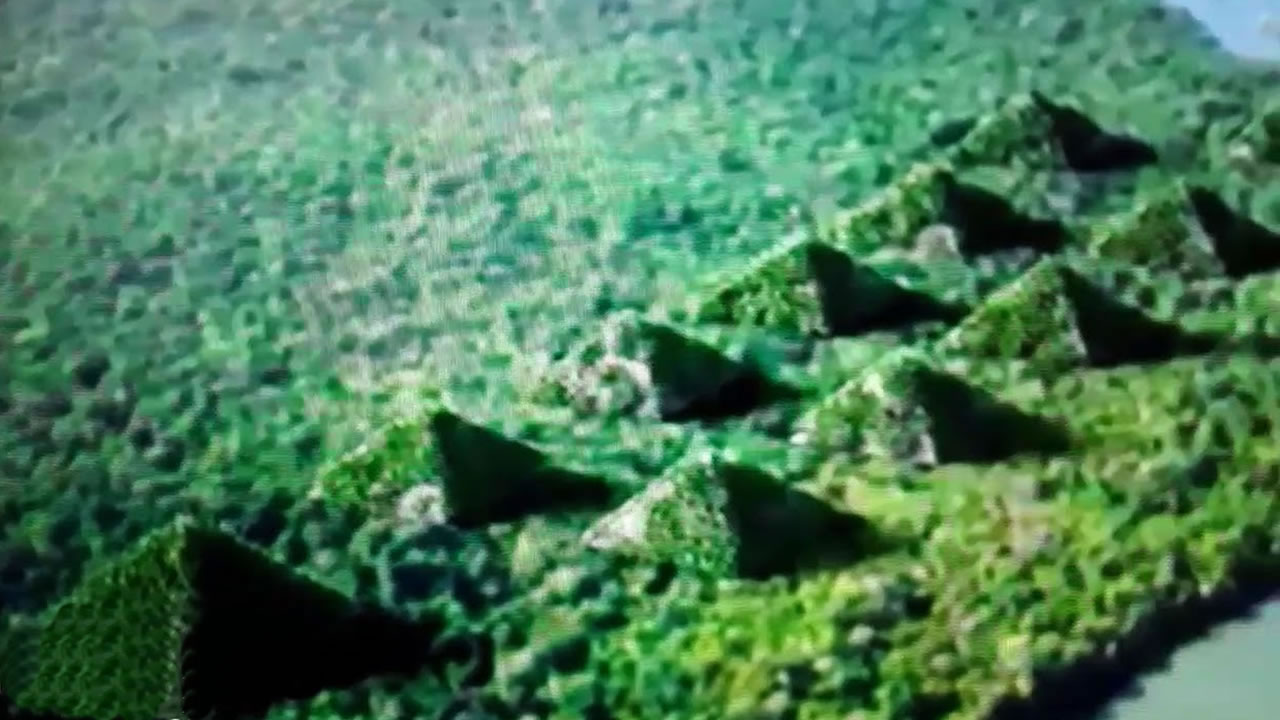 Pirámides de Paratoari: ancestrales formaciones descubiertas en el Amazonas por un satélite (VÍDEO)