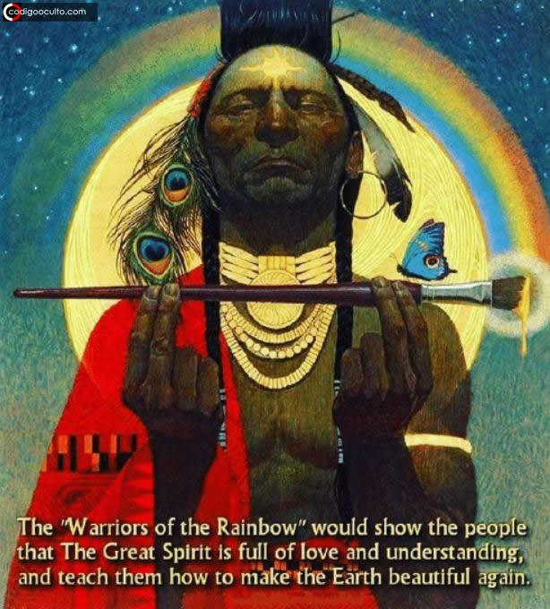 """Profecía de los «Guerreros del Arco Iris» y el futuro de la Tierra: """"Regresa a lo elemental y empezar de nuevo"""""""