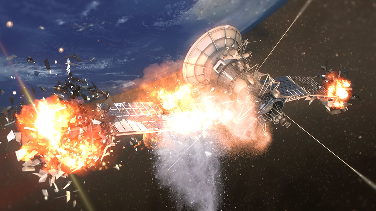 HOY: Satélite ruso y cohete chino en «muy alto riesgo» de colisión en el espacio podrían causar un desastre