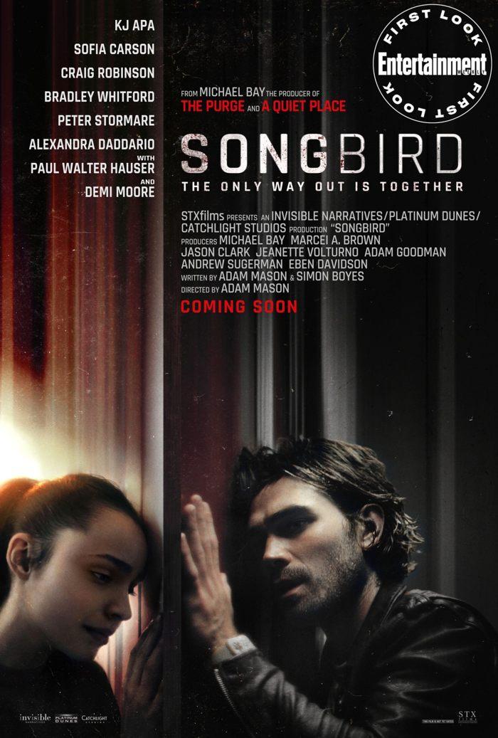 Songbird, película basada en la pandemia muestra un mundo en su cuarto año de encierro en 2024