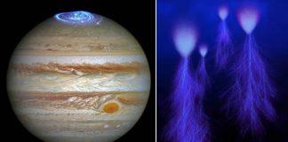 Capturan sprites en la atmósfera de Júpiter por primera vez
