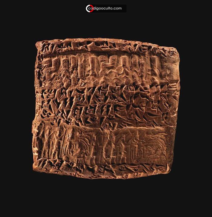 «El Rojo cubrirá el cielo» Advertencia anunciada en antigua tablilla cuneiforme asiria