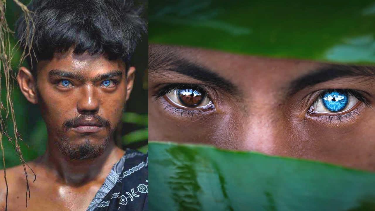 Tribu de Indonesia poseen los ojos más azules que se hayan visto (¡con brillo propio!)