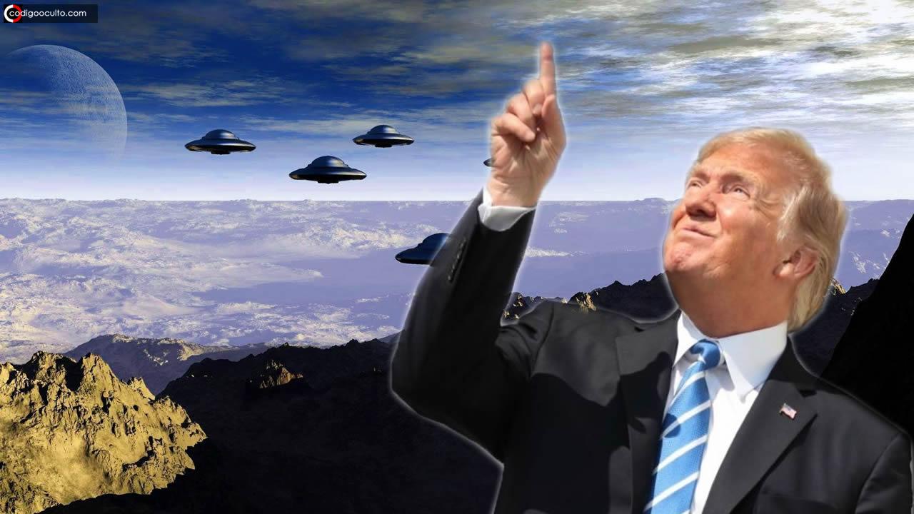 Trump dice que investigará  más a fondo la existencia de OVNIs