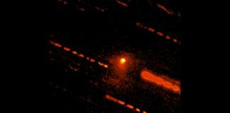 Detectan actividad en un objeto planetario distante