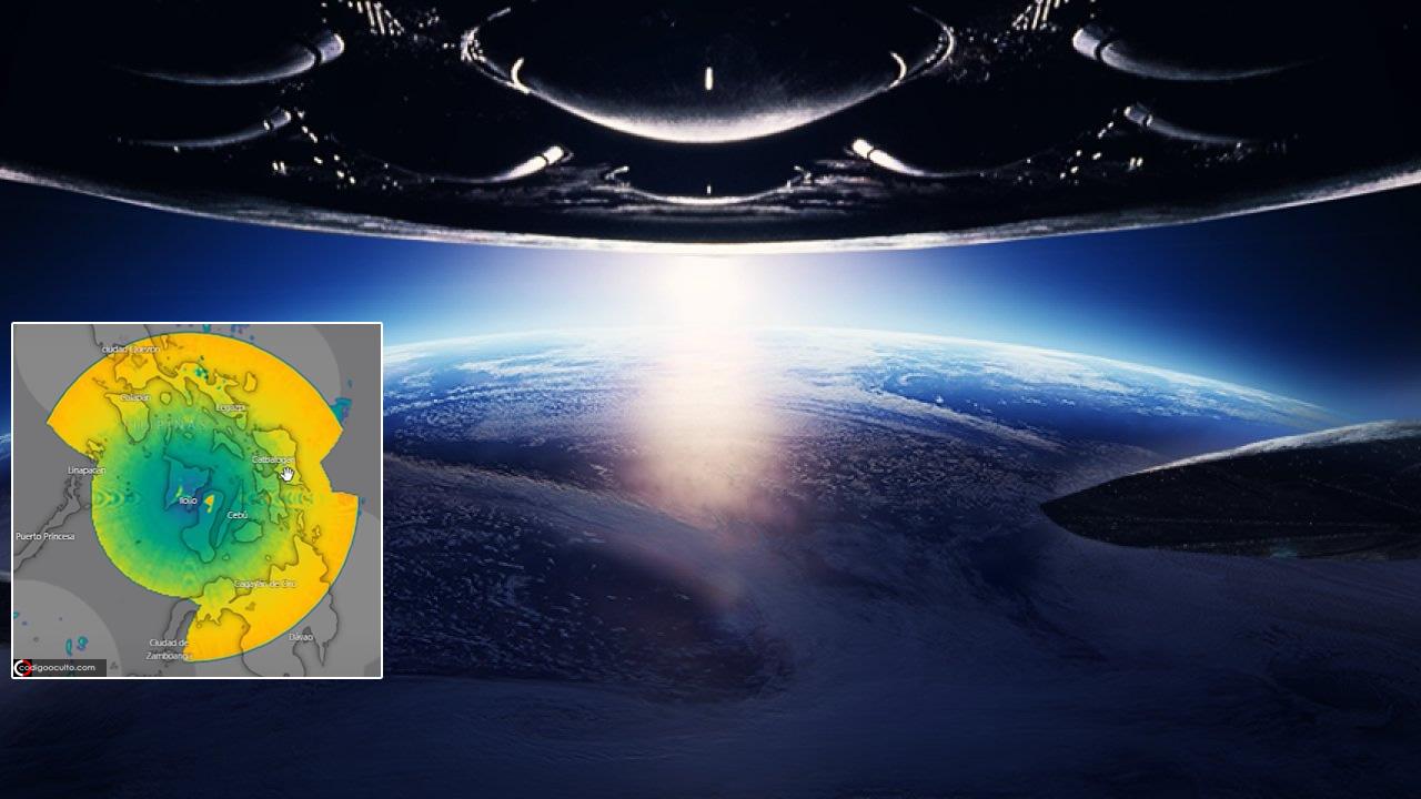 Primero fue en México. Ahora ENORME anomalía aparece sobre Filipinas en radares meteorológicos (VÍDEO)