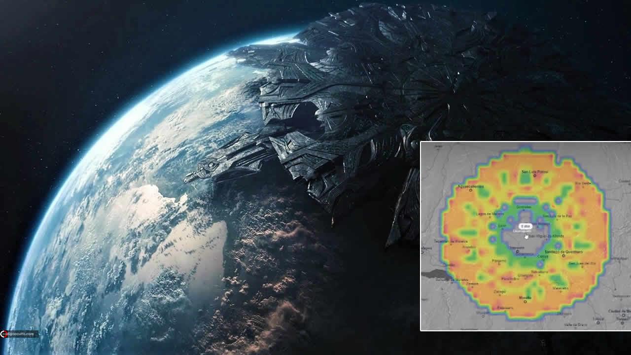Nuevamente: ENORME anomalía aparece en radar sobre México (VÍDEO)
