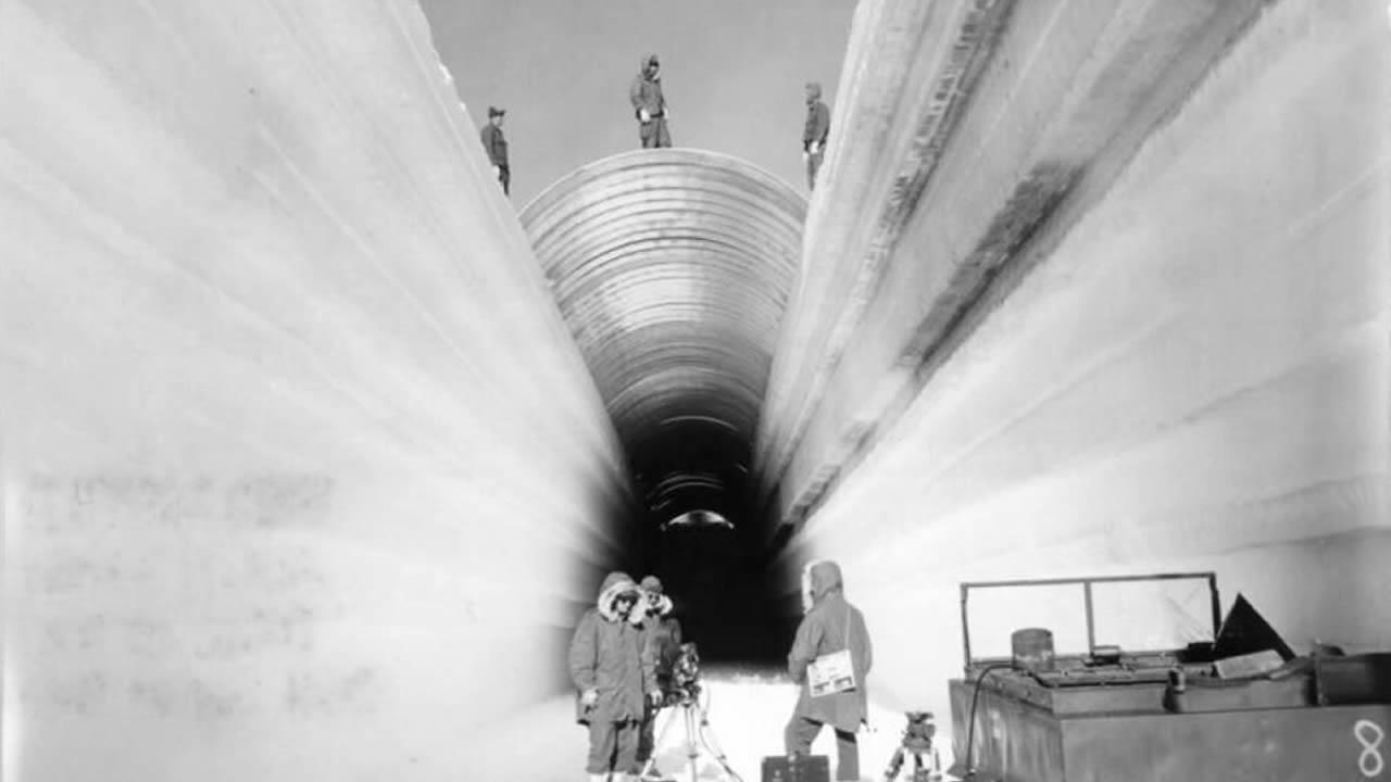 Ciudad subterránea en un glaciar: Túneles fueron construidos bajo Groenlandia (VÍDEO)