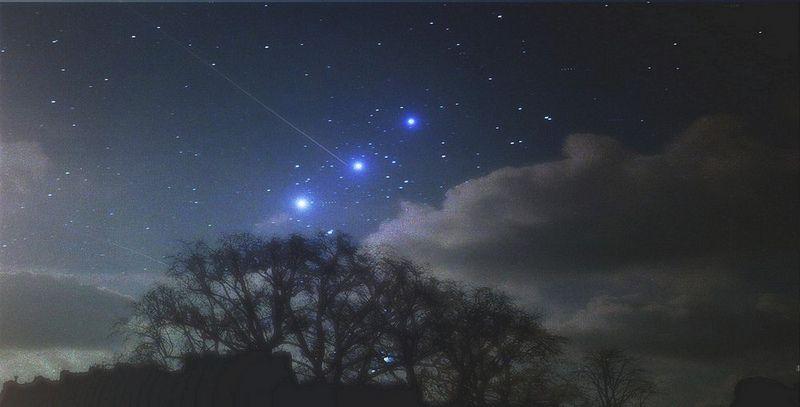 Constelación de Orión y un antiguo Portal a un Universo Paralelo