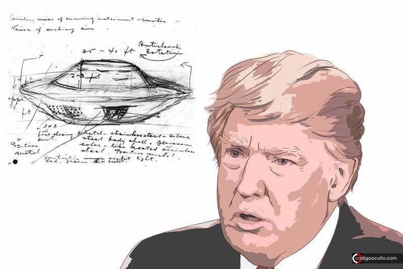 Surgen rumores de que Trump podría desclasificar los archivos OVNI