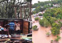 Destrucción y muerte tras el devastador paso del huracán Iota en Nicaragua, Honduras, Colombia, Guatemala y Panamá